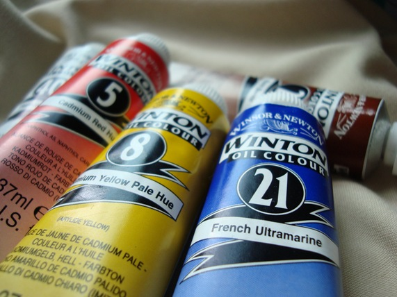 Oil paints!